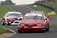 Round 3 of the 2006 British Touring Car Championship. #66 Mark Smith (GBR). In-Front Motorsport. Alfa Romeo 156.