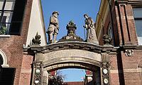 Nederland Zutphen- 2020. Oude Bornhof. Een hofje in het centrum van Zutphen. Ingang bij de Zaadmarkt. Foto : ANP/ HH / Berlinda van Dam