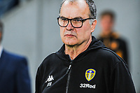 Leeds United's manager Marcelo Bielsa during the Sky Bet Championship match between Hull City and Leeds United at the KC Stadium, Kingston upon Hull, England on 2 October 2018. Photo by Stephen Buckley/PRiME Media Images.