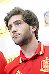 Sergi Roberto during trade event during Spanish national football team staff. March 21,2016. (ALTERPHOTOS/Acero)