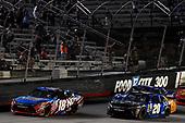 NASCAR XFINITY Series<br /> Food City 300<br /> Bristol Motor Speedway, Bristol, TN USA<br /> Friday 18 August 2017<br /> Kyle Busch, NOS Rowdy Toyota Camry and Daniel Suarez, Juniper Toyota Camry<br /> World Copyright: Rusty Jarrett<br /> LAT Images