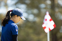 STANFORD, CA - APRIL 23: YuSang Hou at Stanford Golf Course on April 23, 2021 in Stanford, California.
