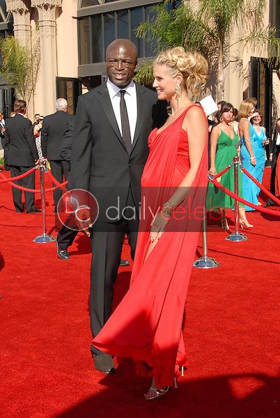 Seal and Heidi Klum<br />arriving at the 58th Annual Primetime Emmy Awards. The Shrine Auditorium, Los Angeles, CA. 08-27-06<br />Scott Kirkland/DailyCeleb.com 818-249-4998