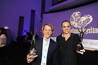 SPORT: HEERENVEEN: Trinitas, 30-01-2013, Sportgala Fryslân, Epke Zonderland (sportman), Marit Bouwmeester (sportvrouw), ©foto Martin de Jong