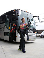 Abby Wambach, Christie Rampone. The USWNT defeated Mexico, 1-0, during the game at Red Bull Arena in Harrison, NJ.