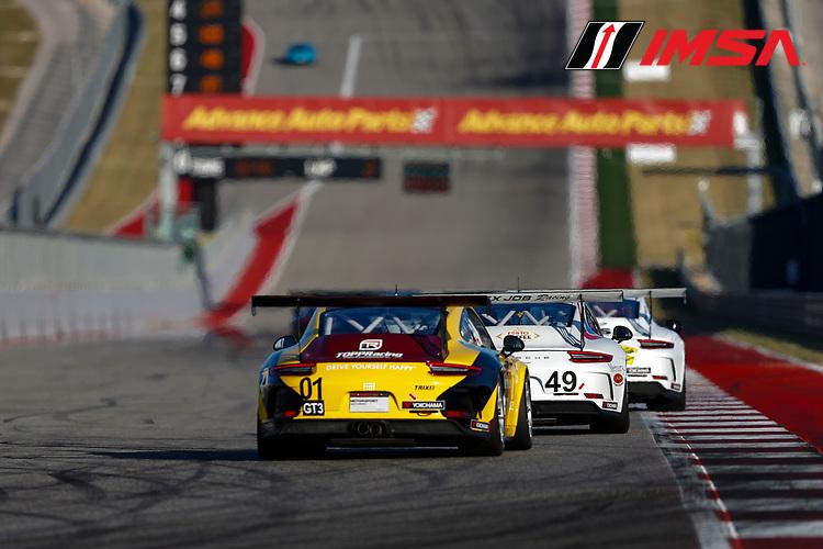 Porsche GT3 Cup Challenge USA<br /> Advance Auto Parts SportsCar Showdown<br /> Circuit of The Americas, Austin, TX USA<br /> Friday 5 May 2017<br /> 49, Sebastian Landy, GT3P, USA, 2017 Porsche 991<br /> World Copyright: Jake Galstad<br /> LAT Images