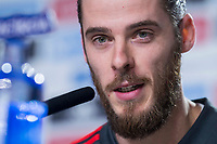 Spain coach David de Gea during press conference the day before Spain and Argentina match at Wanda Metropolitano in Madrid , Spain. March 26, 2018. (ALTERPHOTOS/Borja B.Hojas) /NortePhoto NORTEPHOTOMEXICO