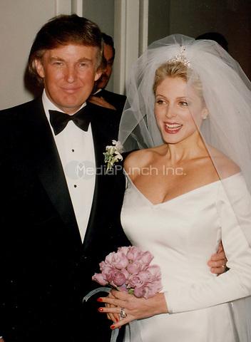Donald Trump Marla Maples 1993<br /> Photo By John Barrett-PHOTOlink.net / MediaPunch