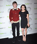 Mae Whitman and Miles Heizer at The PaleyFest 2013 - Parenthood held at The Saban Theater in Beverly Hills, California on March 07,2013                                                                   Copyright 2013 Hollywood Press Agency