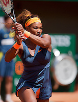 02-06-13, Tennis, France, Paris, Roland Garros,  Serena Williams