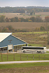 Barn with Tour Bus, York, Pennsylvania