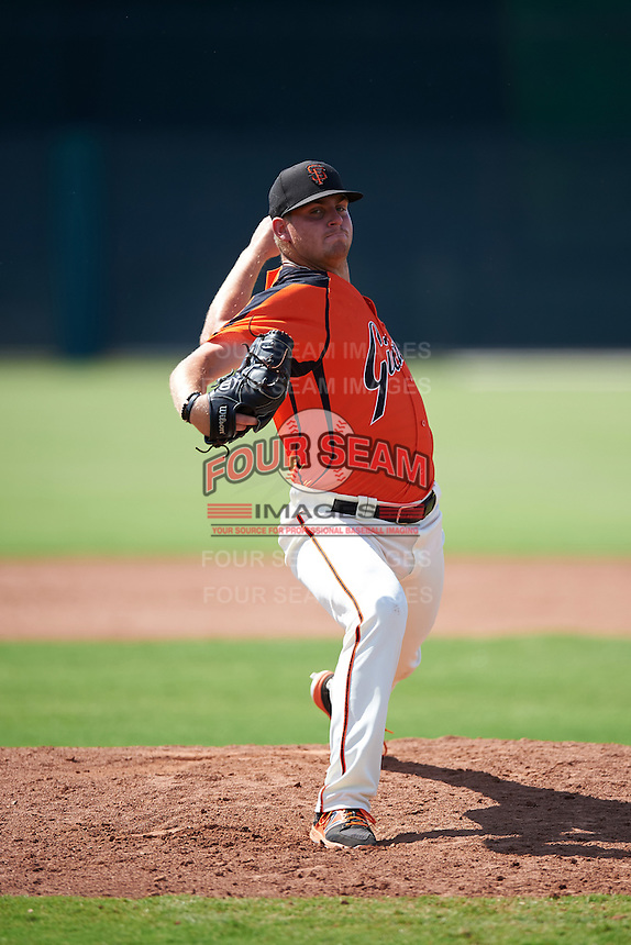 San Francisco Giants pitcher Mac Marshall (41) during an Instructional League game against the Colorado Rockies on October 8, 2016 at the Giants Baseball Complex in Scottsdale, Arizona.  (Mike Janes/Four Seam Images)