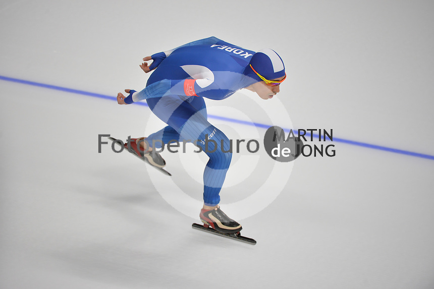 OLYMPIC GAMES: PYEONGCHANG: 15-02-2018, Gangneung Oval, Long Track, 10.000m Men, Seung-Hoon Lee (KOR), ©photo Martin de Jong