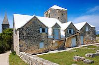 The Tower of Radojkovic, the regional museum in the ancient town of skrip in Brac island, Croatia