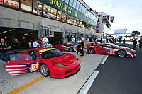 TEST DAY 24 HOURS AT LE MANS (FRA) FIA WEC 2012