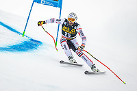 29th December 2020; Stelvio, Bormio, Italy; FIS World Cup Super G for Men;  Matthias Mayer of Austria in action during his run for the men Super G race