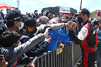 23rd May 2021; Felgueiras, Porto, Portugal; WRC Rally of Portugal, stages SS16-SS20;  Sebastien Ogier -Toyota Yaris WRC<br /> famille