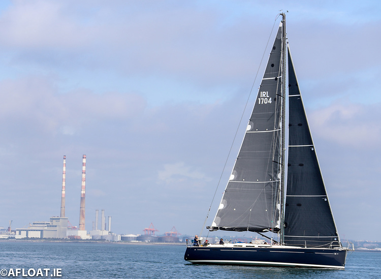 Blaoga, a Dufour 45se from Howth Yacht Club, is on of 40 boats racing in the Dun Laoghaire to Dingle race on June 9th