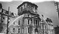 1922 DIS incendie Hotel de ville
