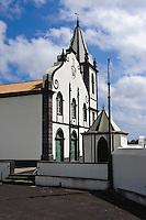 Kirche in Feteira auf der Insel Faial, Azoren, Portugal