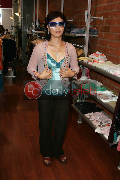 Bai Jie<br />at TAG RAG Boutique, Beverly Hills, CA. 08-30-06<br />Dave Edwards/DailyCeleb.com 818-249-4998<br />Exclusive