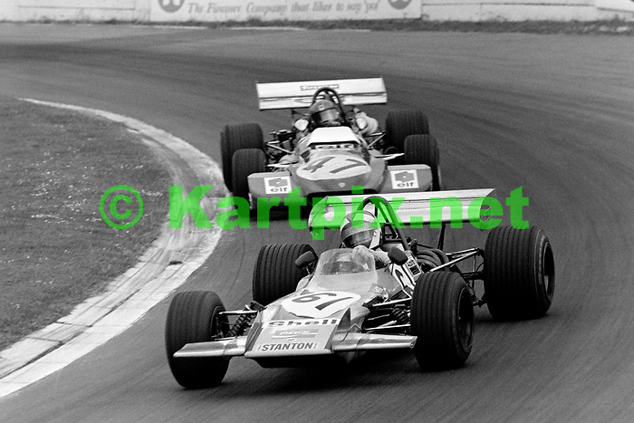 Gerry Birrell at Crystal Palace in 1971.<br /> <br /> 1971 CRYSTAL PALACE<br /> HILTON TRANSPORT LONDON TROPHY<br /> EUROPEAN F2