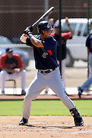 Delvi Cid - Cleveland Indians 2009 Instructional League.Photo by:  Bill Mitchell/Four Seam Images..