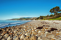 A beautiful January day at El Capitan State Beach, near Santa Barbara, California.