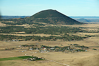 Capulin, New Mexico. Volcano. Oct 2013