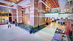 Lobby of Fifth Third Building in Dayton Ohio.