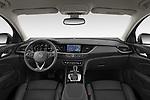 Stock photo of straight dashboard view of 2021 Opel Insignia Ultimate 4 Door Sedan Dashboard