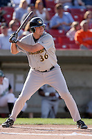 April 28, 2007:  Brad Miller of the South Bend SilverHawks at Elfstrom Stadium in Geneva, IL  Photo by:  Chris Proctor/Four Seam Images