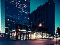 Montreal (Qc) CANADA - circa 1997  File Photo -  Roche Bobois store