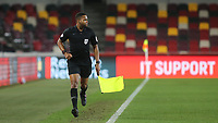 Assistant Referee, Akil Howson during Brentford vs Sheffield Wednesday, Sky Bet EFL Championship Football at the Brentford Community Stadium on 24th February 2021