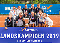 Zandvoort, Netherlands, 9 June, 2019, Tennis, Play-Offs Competition, Team Zandvoort celebrate their win over Team Naaldwijk<br /> Photo: Henk Koster/tennisimages.com