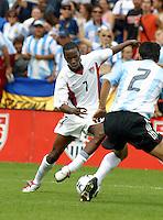 DaMarcus Beasley, Argentina vs. USA, Miami, Fla.