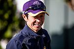 OCT 29: Yutaka Take at Santa Anita Park in Arcadia, California on Oct 29, 2019. Evers/Eclipse Sportswire/Breeders' Cup