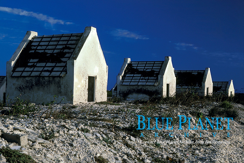 slave huts near salt ponds, Bonaire Netherland Antilles (Dutch ABC Islands) (Caribbean, Atlantic)