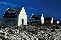 slave huts near salt ponds, Bonaire Netherland Antilles (Dutch ABC Islands) (Caribbean, Atlantic)
