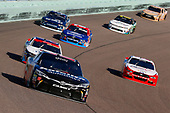 NASCAR XFINITY Series<br /> Ford EcoBoost 300<br /> Homestead-Miami Speedway, Homestead, FL USA<br /> Saturday 18 November 2017<br /> Ryan Preece, Safelite AutoGlass Toyota Camry and Sam Hornish Jr, REV/Fleetwood RV Ford Mustang<br /> World Copyright: Russell LaBounty<br /> LAT Images