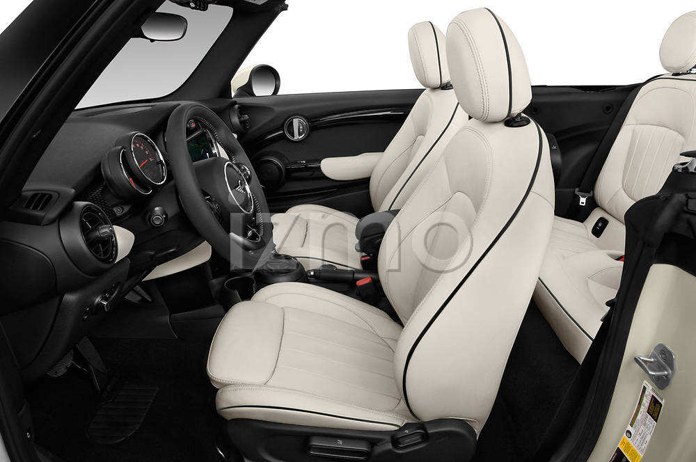 Front seat view of a 2019 Mini Cooper Cooper S Chili 2 Door Convertible front seat car photos