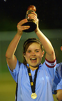 120822 Football - Wellington Secondary Schools Premier Girls Final