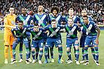 WfL Wolfsburg's team photo during Champions League 2015/2016 Quarter-finals 2nd leg match. April 12,2016. (ALTERPHOTOS/Acero)