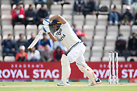 Shubman Gill of India pushes into the off side during India vs New Zealand, ICC World Test Championship Final Cricket at The Hampshire Bowl on 22nd June 2021