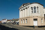 Lutterworth Leicestershire. The Town Hall.