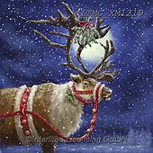 Marcello, CHRISTMAS SYMBOLS, WEIHNACHTEN SYMBOLE, NAVIDAD SÍMBOLOS, paintings+++++,ITMCXM1219,#xx# ,reindeer,reindeers