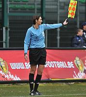 France U19 - Belgium U19 : Christina Jaworek (GER).foto DAVID CATRY / Nikonpro.be