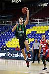 LLIGA NACIONAL CATALANA ACB 2020 AON.<br /> Baixi Manresa vs Club Joventut Badalona: 79-93.<br /> Arturs Zagars.