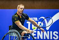 Alphen aan den Rijn, Netherlands, December 22, 2019, TV Nieuwe Sloot,  NK Tennis, Wheelchair final men single: Maikel Scheffers (NED)<br /> Photo: www.tennisimages.com/Henk Koster