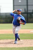 Oswaldo Martinez, Chicago Cubs 2010 minor league spring training..Photo by:  Bill Mitchell/Four Seam Images.